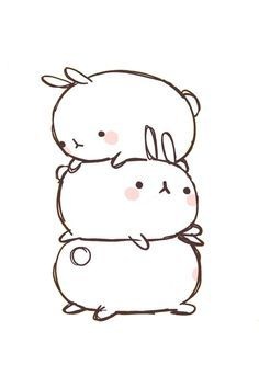 cute bunny sketch - Google Search