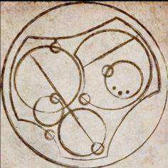 'I love you' in circular galifreyian. Love it