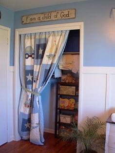 Curtain To Replace Closet Door | Curtain (quilt) For Closet Door | Ideas For