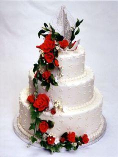 Create A Cake, Creative Cakes, Beautiful Cakes, Marie, Desserts, Decorations, Food, Best Wedding Cakes, Unique Weddings
