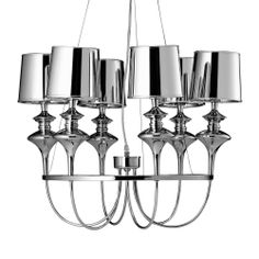 Francfranc chrome ceiling light