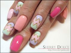 Nail art /kawaii /cute