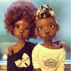 [Pics] These Realistic Looking Black Dolls Are Being Shared All Over the Internet | Black Girl with Long Hair