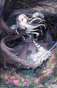 Rozen Maiden: Suigintou by Kyuriin on deviantART