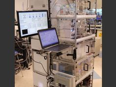 MIT researchers have developed a compact, portable pharmaceutical manufacturing system that can be reconfigured to produce a variety of drugs on demand. Kitchen Refrigerator, Pharmaceutical Manufacturing, Best News Sources, Interview, Medical Prescription, Communication Skills, Pharmacy, Chemistry, Science
