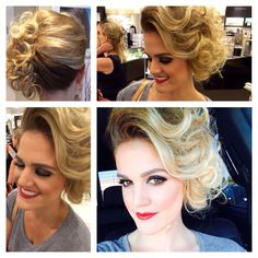 Sandy hair style from Grease the movie