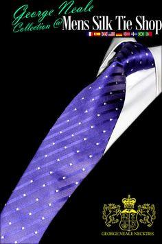 purple polka dot ties. designer, luxury, beautiful, exclusive, expensive, dotted neckties