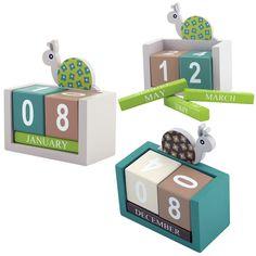 Nestor Nibble Calendar Blocks