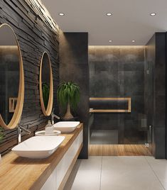 Dark Bathrooms, Dream Bathrooms, Bathroom Black, Small Bathroom, Modern Bathrooms, Bathroom Spa, Bathroom Showers, Budget Bathroom, Bathroom Cabinets