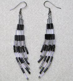 beaded earrings patterns - Google Search