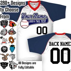 Silver Grey, Navy Blue and White Customizable Baseball Jersey with Your Team, Player Name and Numbers Custom Baseball Logo Purple And Black, Grey And White, Navy Blue, Baseball Jerseys, Baseball Clothes, Reds Baseball, Baseball Field, Baseball Cap, Orange Texas