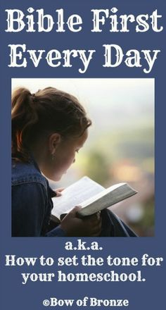 How do you emphasize God's Word in your homeschool?