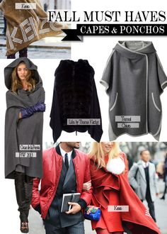 Capes!  http://fashionmemoires.com