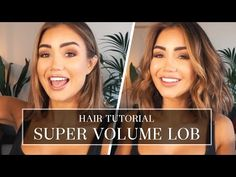 HOW TO GET SUPER VOLUME IN YOUR LOB USING LUXY HAIR EXTENSIONS | Pia Muehlenbeck - YouTube