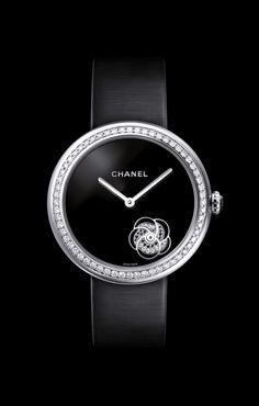 CHANEL - Watchmaking - MADEMOISELLE PRIVÉ CAMÉLIA watch - H3093