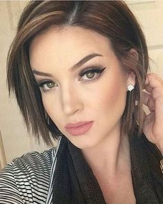 Short Layered Bob Haircut for Fine Hair