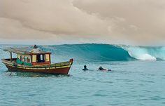 Perfect waves, gnarly waves, easy waves, fun #waves, rights and lefts, Sumatra has it all!