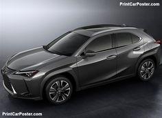 Lexus UX 2019 poster, #poster,
