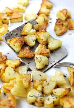 Roasted Heart Potato