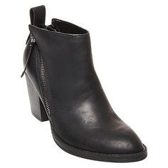 Women's dv Jameson Double Side Zip Booties - Black 11 : Target