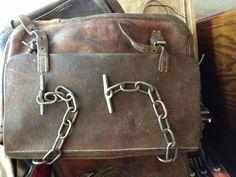 vintage us mail bag | vintage military swiss leather mail bag | Bags