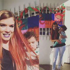 Se vienen los carnavales !!! Vive el hoy y el ahora aprovecha cada momento con tus hijos... #workmon #mamablogera #makeuplover #instamakeup #beauty #sirena #lipstick