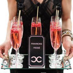 Wedding coco chanel signature drinks party time шампанское, шанель e вечери Chanel Bridal Shower, Chanel Wedding, Paris Wedding, Chanel Birthday Party, Chanel Party, 15 Birthday, Paris Birthday, French Themed Parties, Deco Buffet