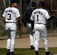 Detroit Tigers.... .Alan Trammell and Lou Whittaker   <3