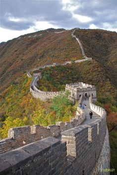 The Great Wall of China (Photo Credit Juan Hidalgo via 500px)