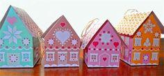 gingerbread house mini christmas gift boxes pdf