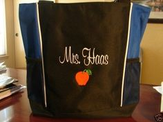Tote Bag TEACHER GYM OFFICE AIDE SCHOOL CLASSROOM ELEMENTARY GIFT MIDDLE GIFT #PORTCO #Tote