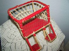 Dolls seat for bicycles 50 / vintage,