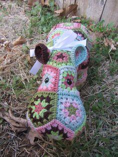 Ravelry: Happypotamus The Happy Hippo Crochet Pattern pattern by Heidi Bears