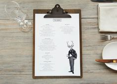 Love this menu. I thought about this before actually, we should have Nelson the bear in the bottom left corner. clipboard menu