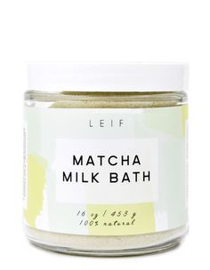 Matcha Milk Bath