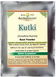 Kutki Powder (Picrorhiza Kurroa) (Wild Crafted from natural habitat) 16 OZ, 454 Gms, 2X Optimum Potency >>> You can get additional details at the image link.