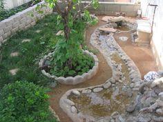 outdoor habitat for mud turtles | Turtle Outdoor Habitat - Outdoor Ponds and Other Enclosures - Turtle ...