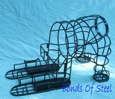 Hey, I found this really awesome Etsy listing at https://www.etsy.com/listing/53304450/bonds-of-steel-puppy-cage-bdsm-restraint