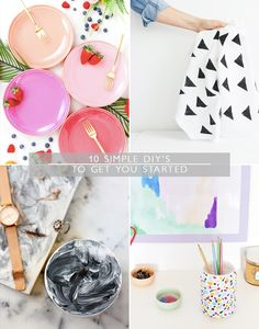 10 simple DIY's to get you started | Squirrelly Minds