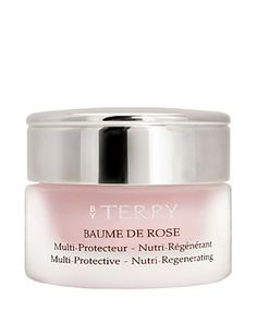 An ultra rich lip balm that smells like roses, leaving your lips instantly plumped, while smoothing away fine lines. They feel instantly soft overnight. A favorite of Parisian models. It's a tad expensive for a lip balm, so don't try it unless you're prepared to be addicted for life. Forgot to mention that it can be used as a cuticle cream.