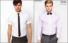 Papillon o cravatta? Scegli Thistle