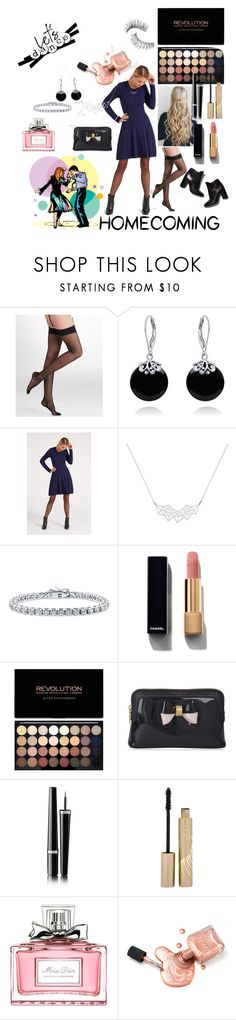 """""""Let's Dance!"""" by daniellemtartaglione ❤ liked on Polyvore featuring L'Agent By Agent Provocateur, Bling Jewelry, Pierre Hardy, A Weathered Penny, BERRICLE, Chanel, Ted Baker, Stila, Christian Dior and Trish McEvoy"""