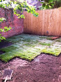 How can someone install sod?