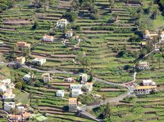 La Gomera, Canary Islands where the local residents would yodel to communicate between the high, vast valleys and terraces.