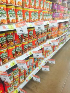Chef Boyardee on Rollback at Walmart - The TipToe Fairy