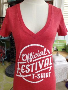 Fleurty Girl - Everything New Orleans - Official Festival T-Shirt, $25. Perfect for any festival, anywhere, any time!