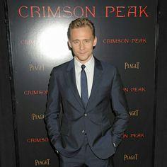 Tom Hiddleston at Crimson Peak premiere