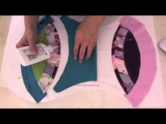 Double Wedding Ring Quilt Along #10 this is Sharon Schamber's daughter. Series of videos.