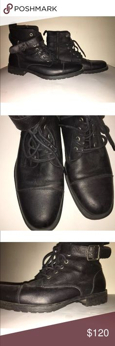Banana Republic Landon Boot These boots are so chic and goes great with several styles. (Ok condition, please see pictures). Banana Republic Shoes Boots