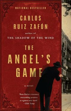 The Angel's Game by Carlos Ruiz Zafón - the follow-up to The Shadow of the Wind does not disappoint. What an amazing read! Once you pick this up, you will not stop reading it.